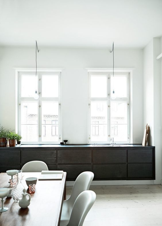 Floating units look bespoke and give an increased sense of space