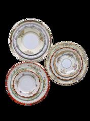 Ornate Floral Plate