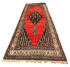 Long Red Rug