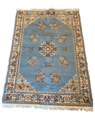 Sea Blue Persian Rug