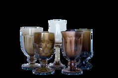 Smoke Water and Wine Glassware