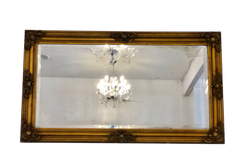Distressed Gold Mirror