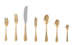 Gold Ornate Matching Flatware