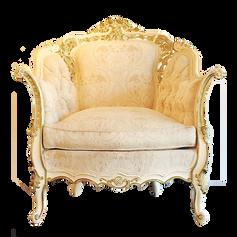 Cream Provincial Armchair