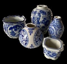 Chinoiserie Vases