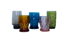 Stemless Colored Glassware