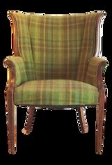 Plaid Green Chair