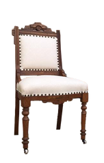 White Eastlake Dining chair