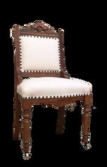 White Eastlake Dining chair