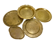 Assorted Brass Tray