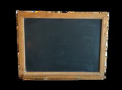 Wood Schoolhouse Chalkboard