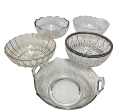 Medium Crystal Bowl