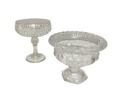 Crystal Pedestal Bowl