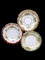 Ornate Floral Dessert/Bread Plate