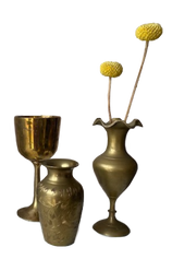 Small Brass Vessels