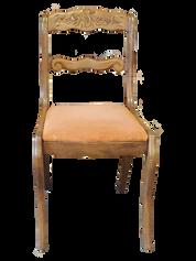 Wood-Peach Dining Chair