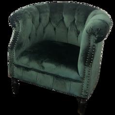 Emerald Green Club Chair