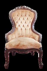 Light Pink Victorian Armchair
