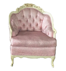Pink Provincal Armchair