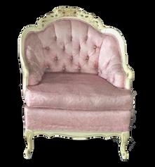 Pink Provincal Armchair