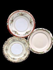 Ornate Floral Dinner Plate