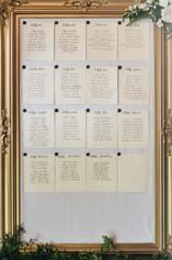 Large Gold Linen Cork-Back Board