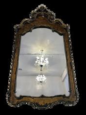Pewter Ornate Mirror