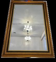 Medium Gold + Black Mirror