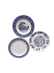Blue and White Dessert/Bread Plate