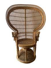 Large Peacock Chair