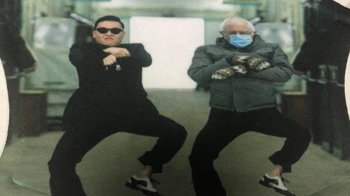 Bernie Sanders Gangnam Style Mask