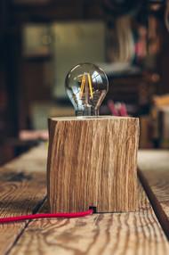 Lampe Edison - Plus rustique