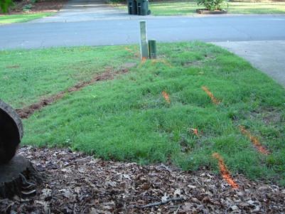 Water Line Repair with Minimal Yard Damage