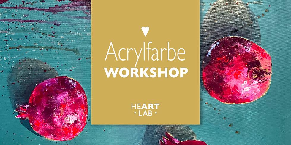 "Workshop Acrylfarbe  ""Vitamin Kunst"" 02.01."