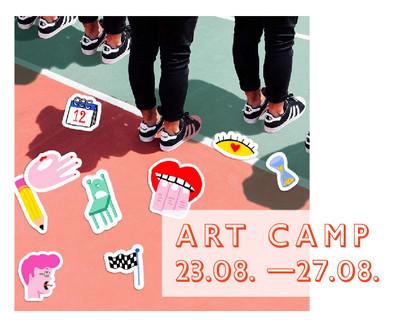 ART CAMP 23.08.- 27.08. Für Kinder 7-16J.