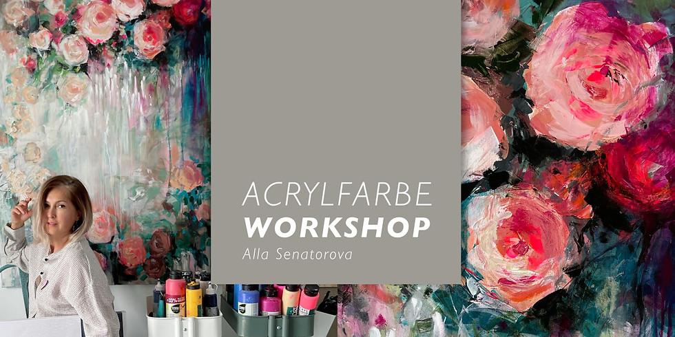 """Autorenworkshop """"Abstrakte Blumen"""""""