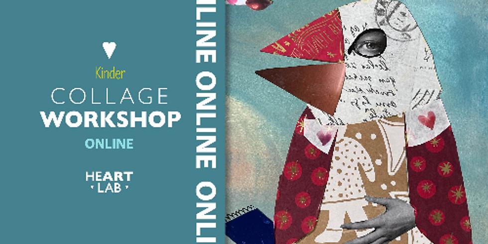 """Online Live Collage """"Vögel"""" Workshop für Kinder"""