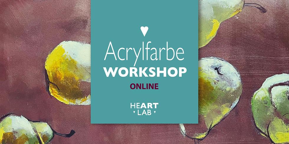 """Online-Live Workshop Acrylfarbe """"Vitamin Kunst"""" 27.02."""