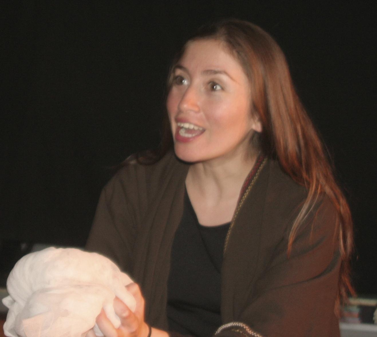 Mónica Rojas. Actriz