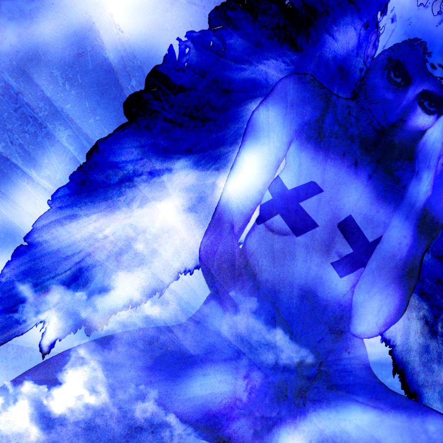 L'ange bleue