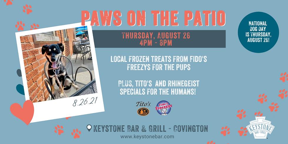 Paws on the Patio at Keystone - Covington