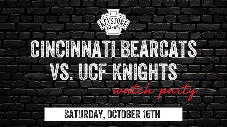 UC Bearcats vs. UCF Knights Watch Party