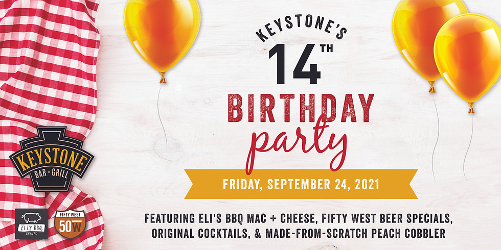 Keystone's 14th Birthday Party