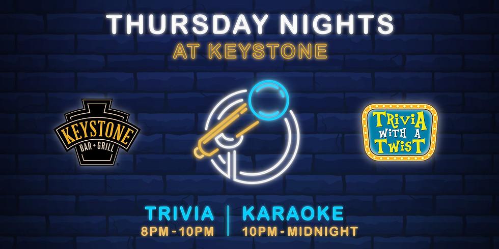 Trivia + Karaoke Night