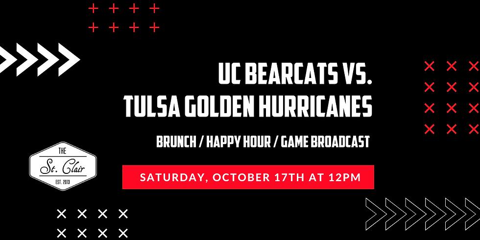 UC Bearcats vs. Tulsa Watch Party
