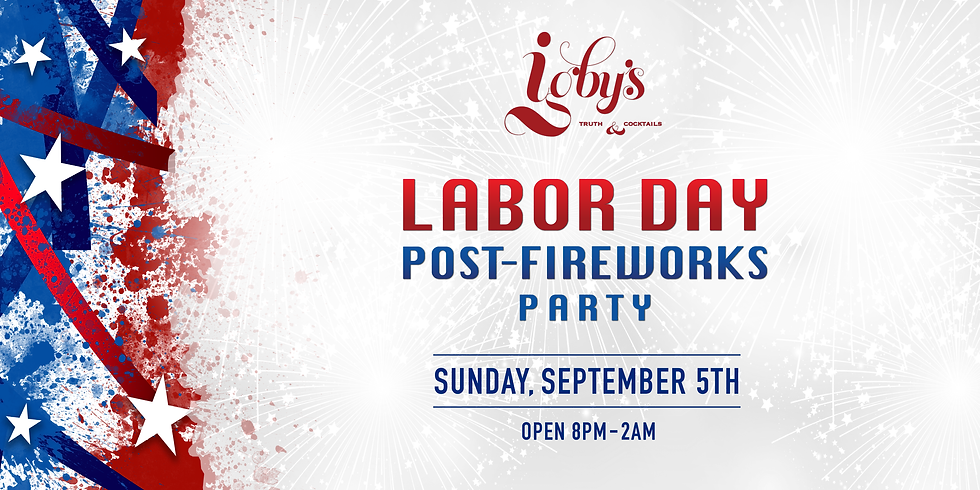Labor Day Post-Fireworks Party