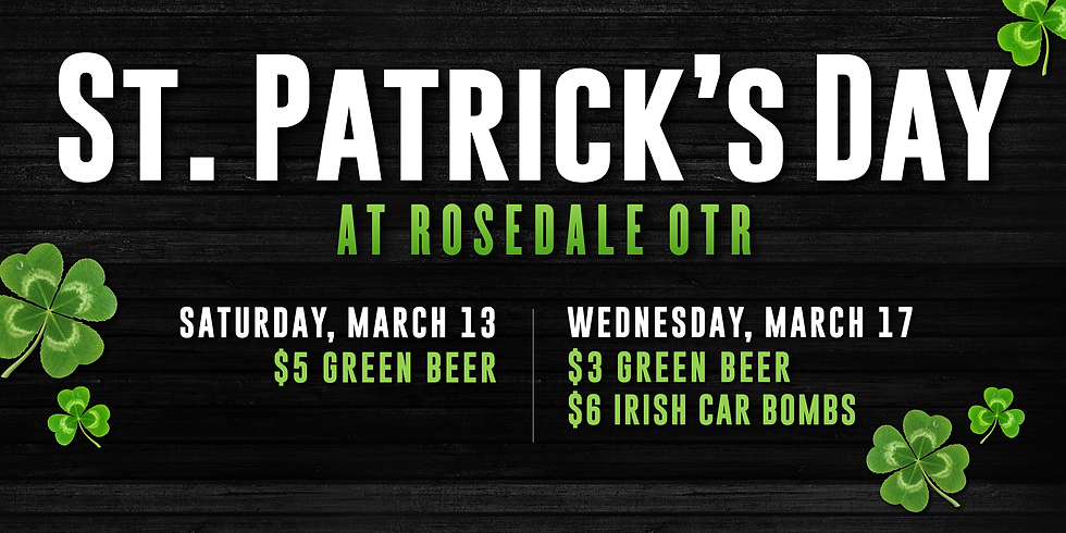 St. Patrick's Day at Rosedale