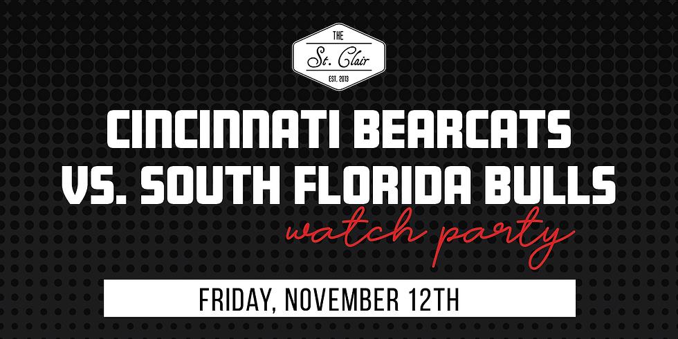 UC Bearcats vs. South Florida Bulls Watch Party