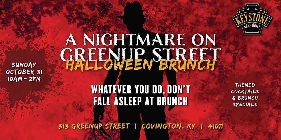 A Nightmare on Greenup Street Halloween Brunch