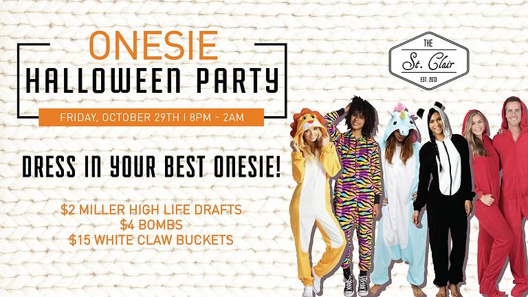 Onesie Halloween Party